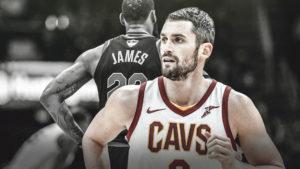 Kevin Love, LeBron James