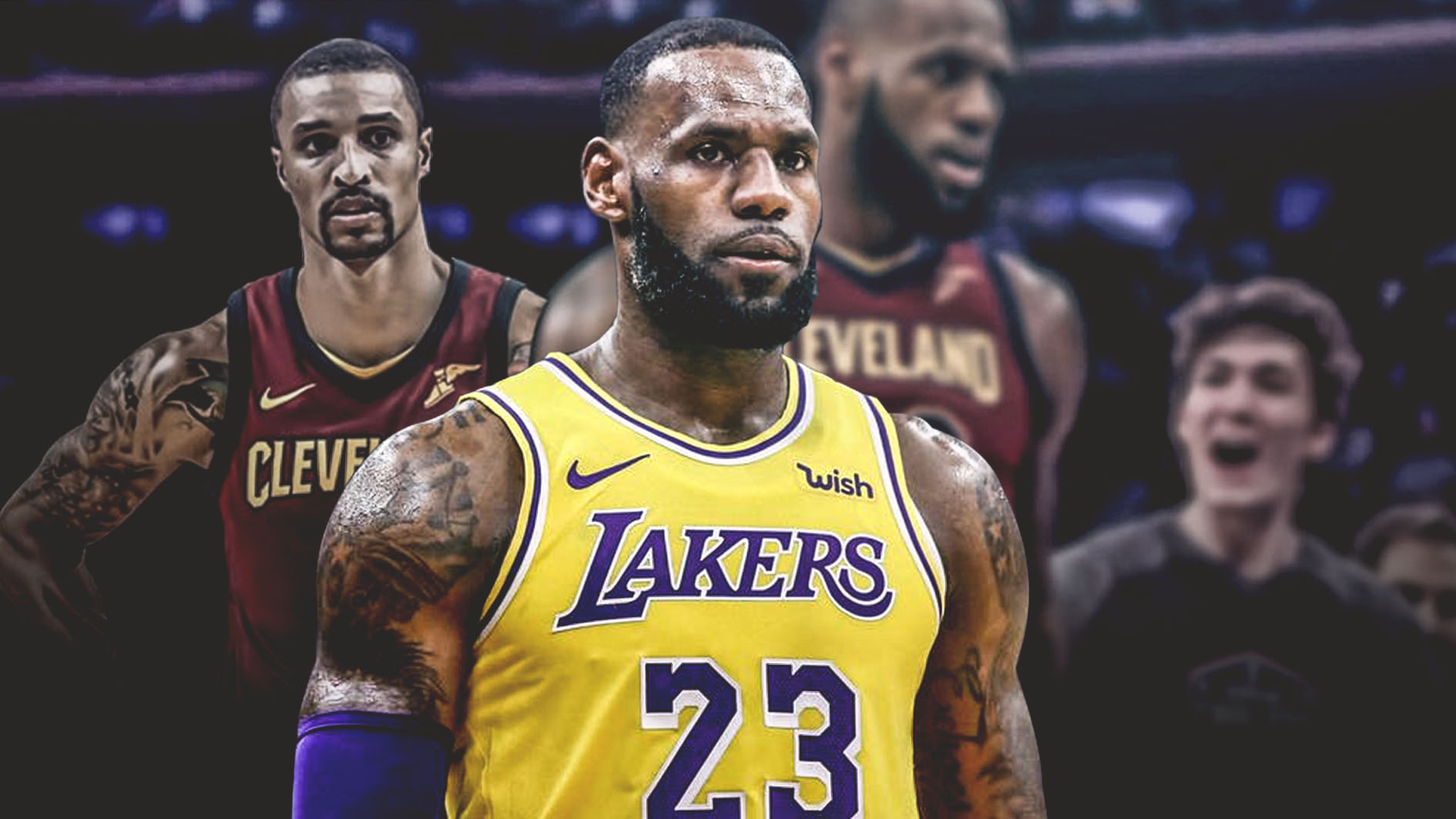 LeBron James, Lakers, George Hill, Cavs