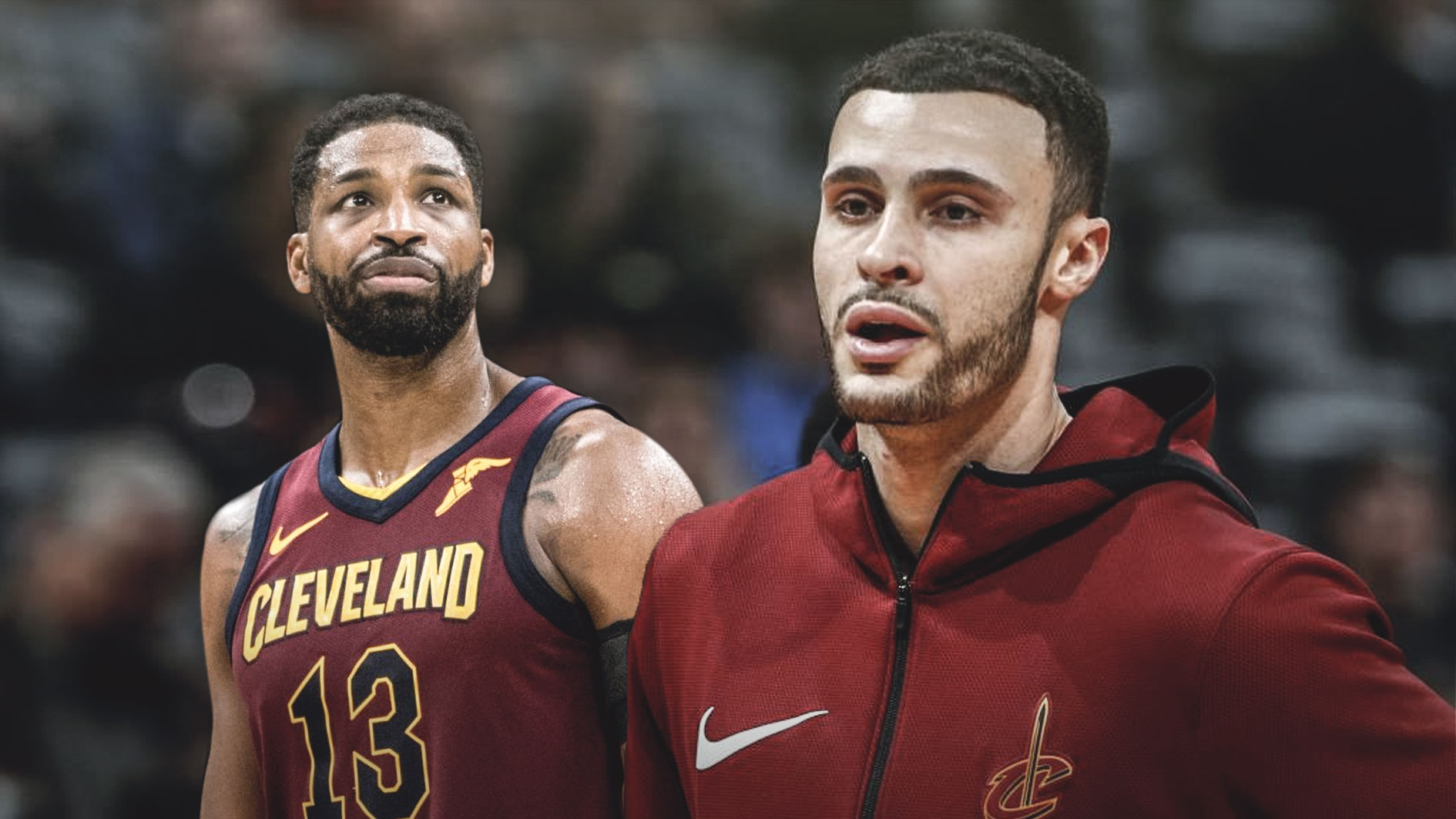 Larry Nance Jr., Tristan Thompson, Cavs