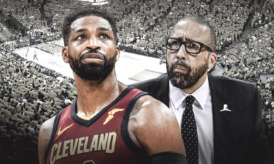 Cavs, Tristan Thompson, David Fizdale, LeBron James