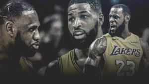 Cavs, Tristan Thompson, Lakers, LeBron James