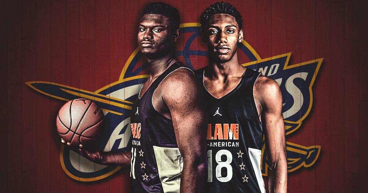 Zion Williamson, RJ Barrett, Cavs