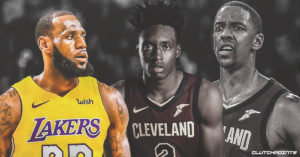 LeBron James, Channing Frye, Collin Sexton, Cavs
