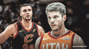 Larry Nance Jr, Kyle Korver, Cavs, Jazz