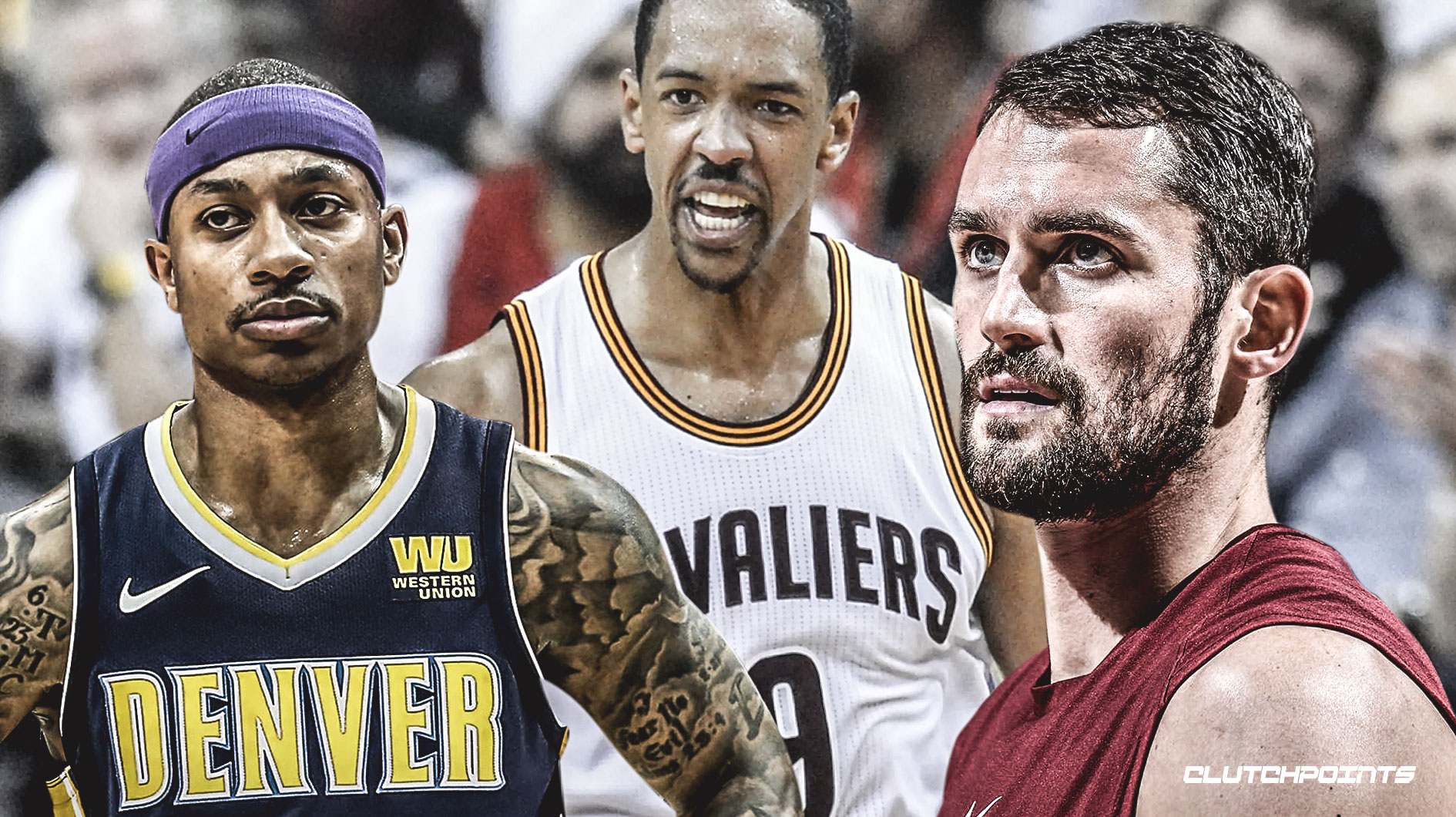 Kevin Love, Isaiah Thomas, Channing Frye, Cavs