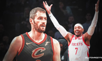 Carmelo Anthony, Kevin Love, Cavs