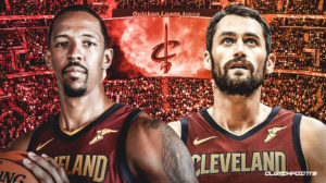 Channing Frye, Kevin Love, Cavs