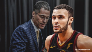 Larry Nance Jr., Rob Pelinka