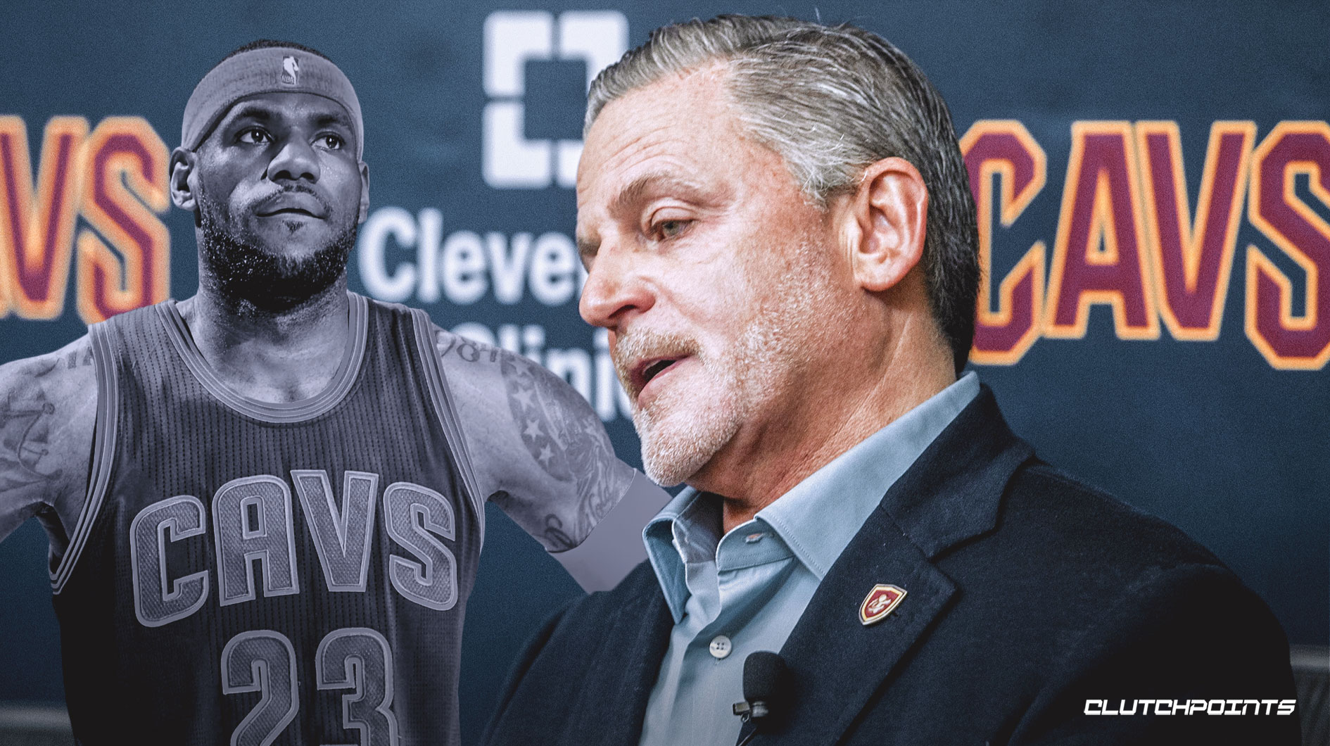 Dan Gilbert, LeBron James, Cavs