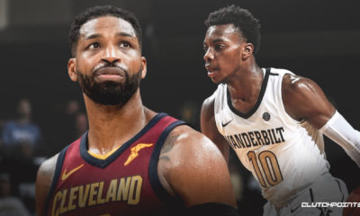 Tristan Thompson, Darius Garland, Cavs