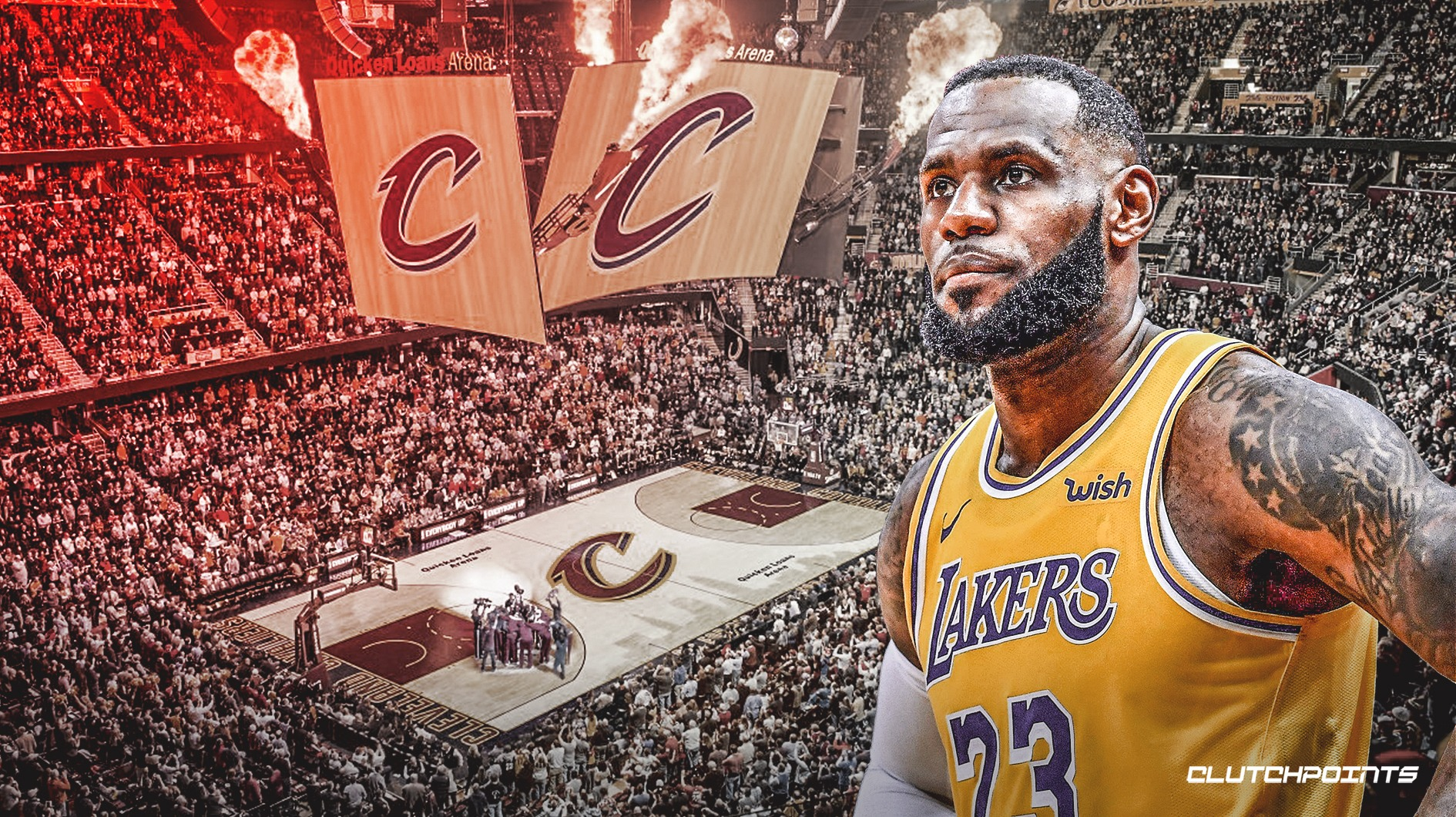 LeBron James, Cavs, Lakers