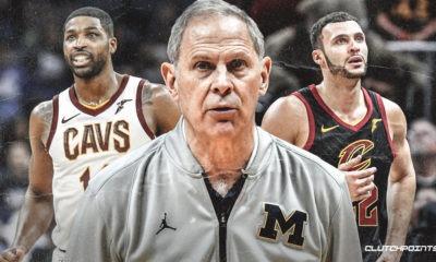Cavs, Spurs, John Beilein, Tristan Thompson, Larry Nance Jr.
