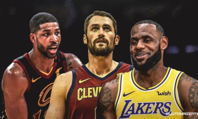 Cavs, Kevin Love, Tristan Thompson, LeBron James, Lakers