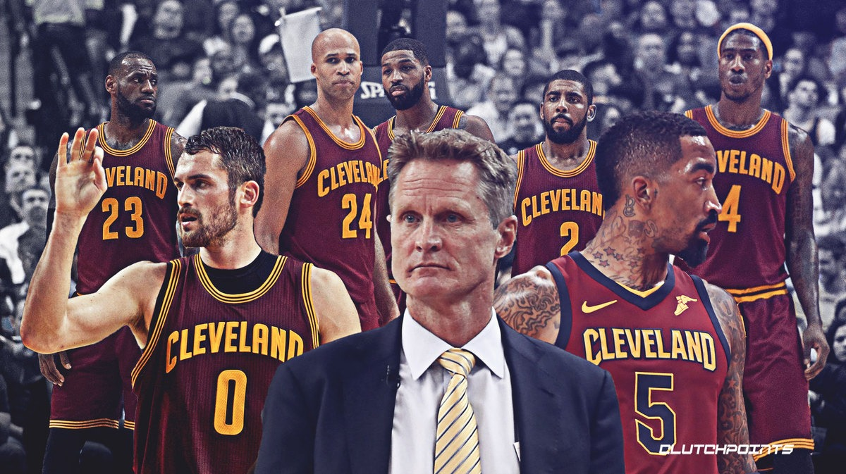 Cavs, LeBron James, Warriors, Steve Kerr