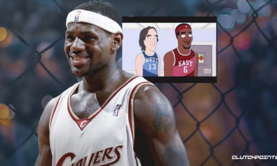 LeBron James, Cavs, Family Guy