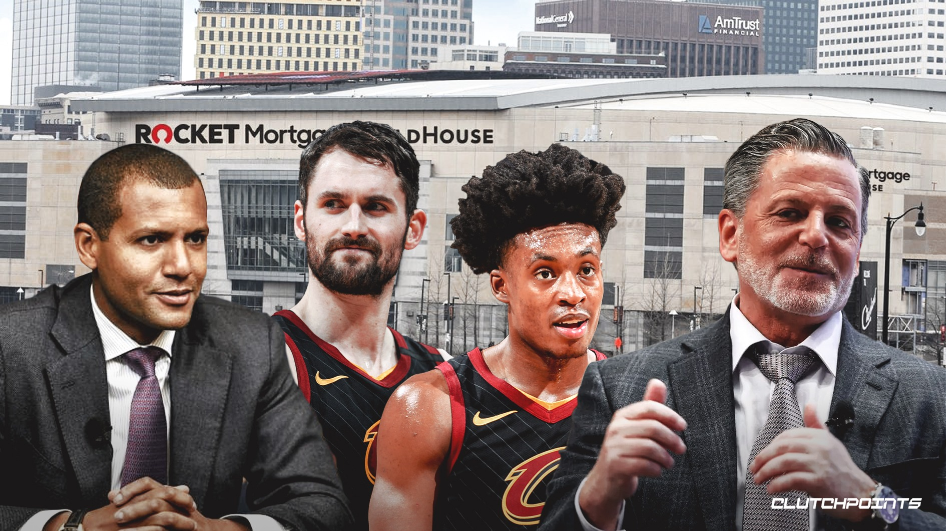 Cavs, Rocket Mortgage FieldHouse