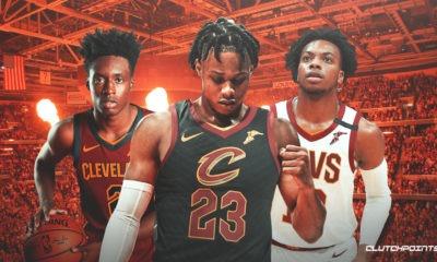 Darius Garland, Collin Sexton, Isaac Okoro, Cavs, NBA Draft