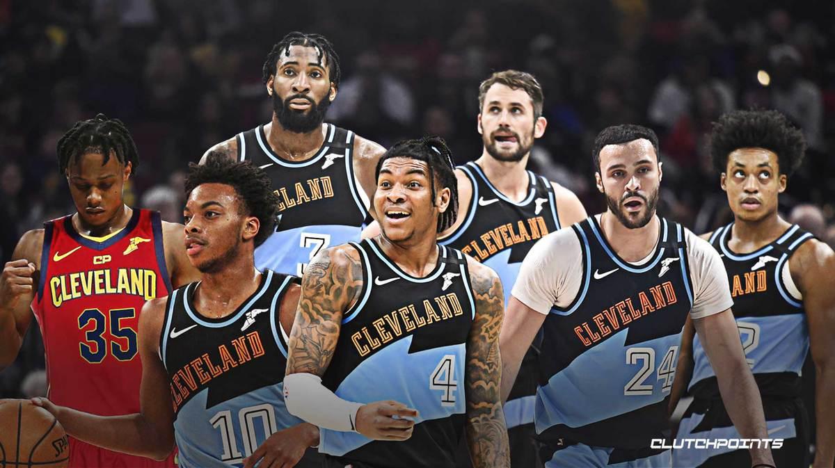 Collin Sexton, Isaac Okoro, Darius Garland, Kevin Love, Larry Nance Jr., Kevin Porter Jr., Andre Drummond, Cavs, playoffs
