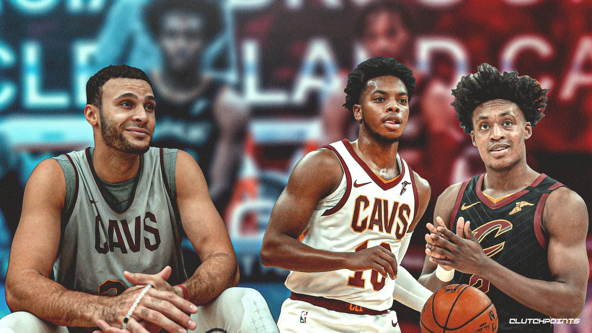 Larry Nance Jr., Darius Garland, Collin Sexton, Cavs