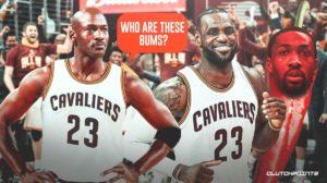 Gilbert Arenas, Michael Jordan, LeBron James, Cavs