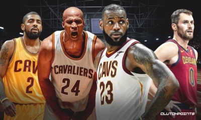 LeBron James, Cavs, Richard Jefferson, Kevin Love, Kyrie Irving