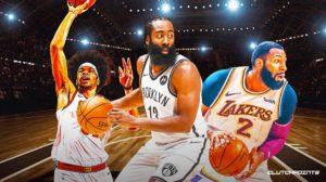 Cavs, James Harden, Andre Drummond, Jarrett Allen, Lakers, Nets